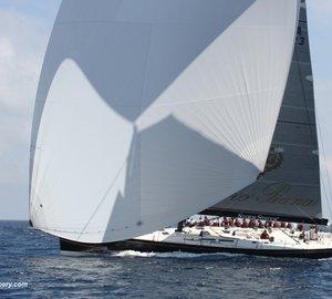A great success of Nauta-designed 84' sailing yacht MY SONG at Loro Piana Superyacht Regatta 2013