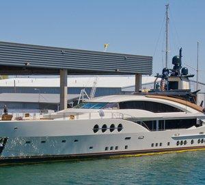 Delivery of 65m Palmer Johnson mega yacht LADY M (PJ210/1, Project STIMULUS)