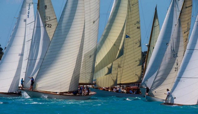 Panerai Classic Yachts Challenge 2013 in Antibes attended by 65 classic sailing yachts