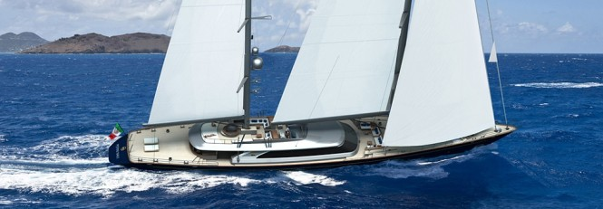 Perini Navi sailing yacht Seahawk (Hull C.2193) featuring thrusters by Ocean Yacht Systems (OYS)