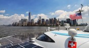 PlanetSolar in New York on June 17, 2013