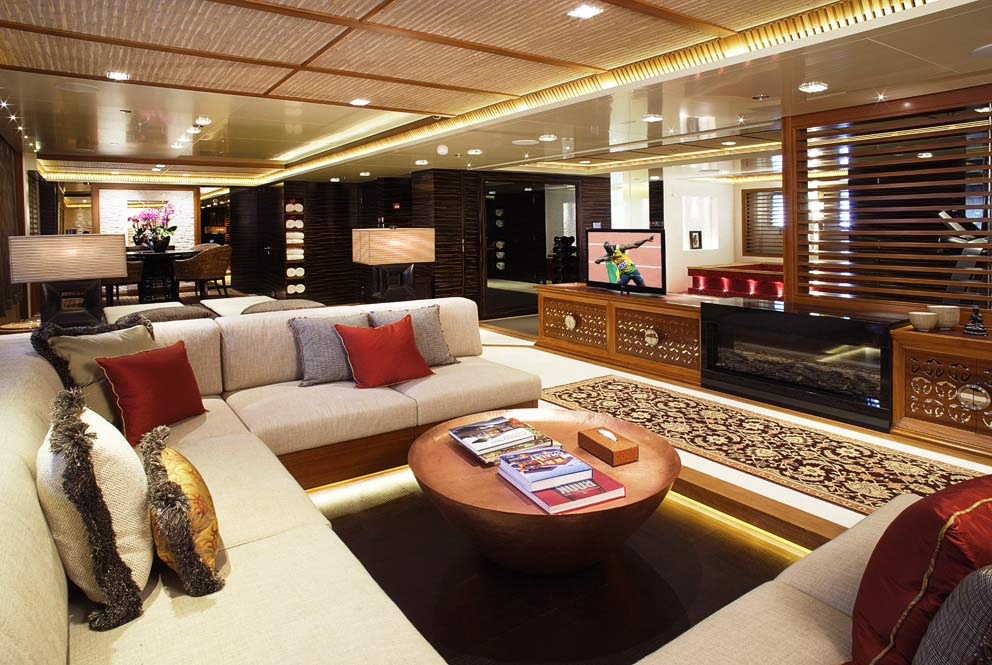 Proteksan Turquoise Superyacht Vicky Interior Yacht