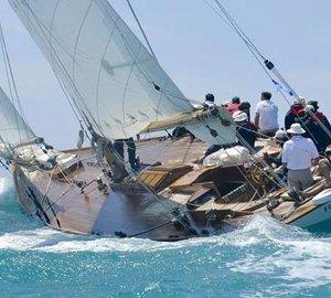 Record fleet of classic yachts for 2013 Camper & Nicholsons Trophée Bailli de Suffren