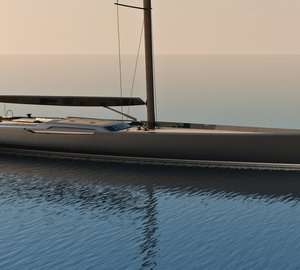 Sailing yacht REICHEL PUGH - NAUTA 155' concept by Nauta Yachts and Reichel Pugh