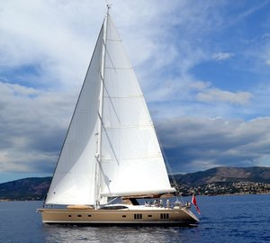 Recently launched sailing yacht KARIBU - a second Oyster 885 yacht by Oyster Yachts