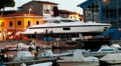 Second superyacht Mangusta 94 by Overmarine Group at launch - Photo by Emilio Bianchi for Overmarine Group