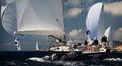 Southern Winds SW 100 superyacht Cape Arrow at the Loro Piana Superyacht Regatta 2013 - Day 1