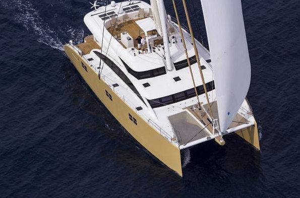 Sunreef 82 Yacht HOUBARA - upview