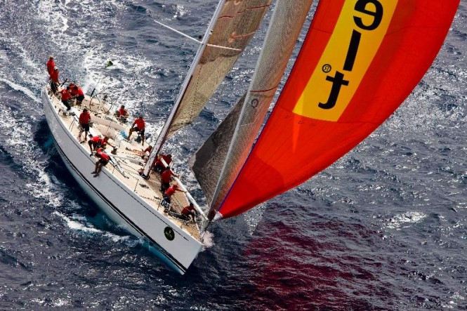 Swan 70 Yacht Flying Dragon ©Rolex/Kurt Arrigo