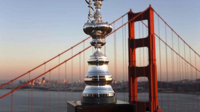 The Americas Cup in San Francisco