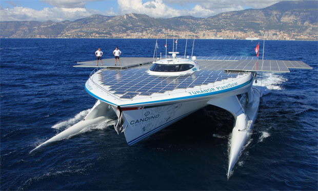 The world's largest solar boat - Planet Solar
