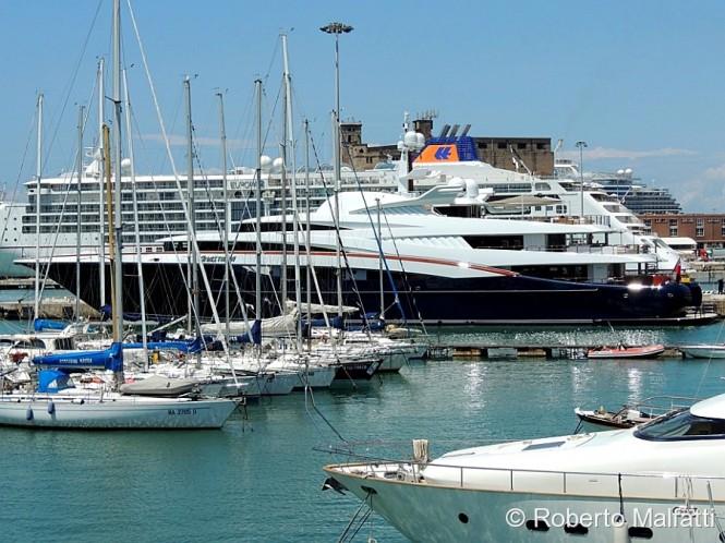 Western Mediterranean charter yacht Anastasia
