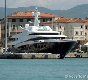 Photos of 75m ANASTASIA yacht available for Italy superyacht charter