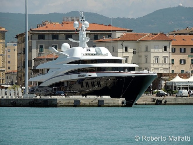 luxury charter yacht ANASTASIA