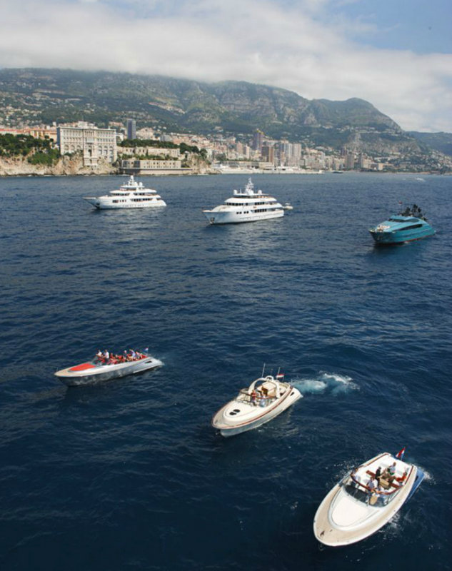 Wajer and Wajer Tenders with Luxury Superyachts at the 2013 Rendezvous in Monaco