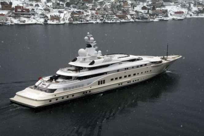 115m PELORUS yacht in Norway - Photo by Tomas Østberg-Jacobsen