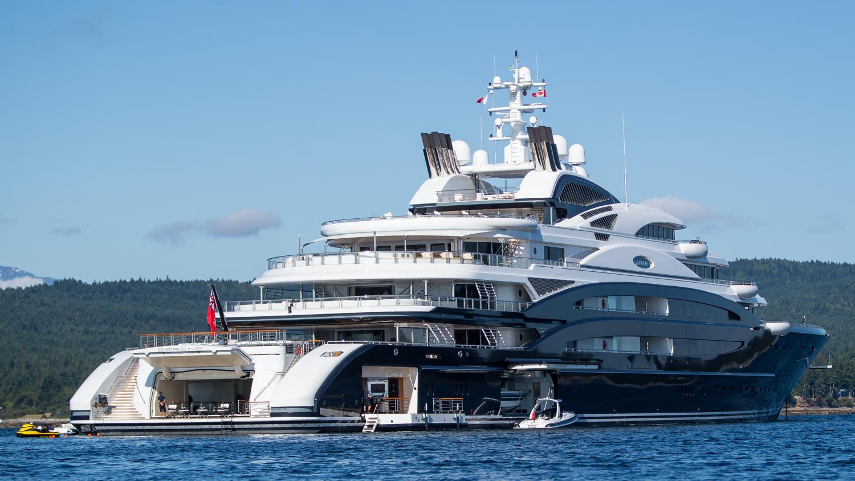 134m Luxury Mega Yacht SERENE Photo By Viktor Davare Vancouver Island Photography