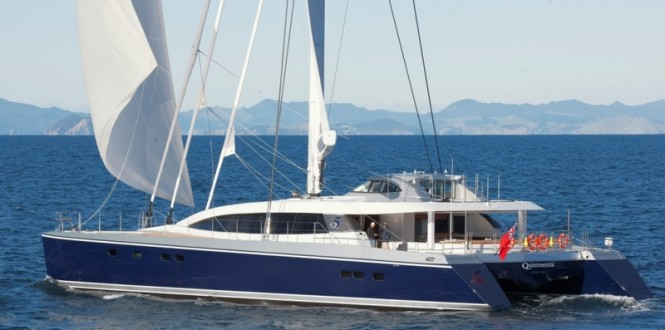 30m sailing yacht Q5 Quintessential (hull YD 66) by Yachting Developments