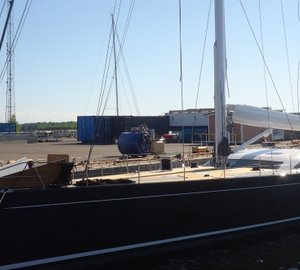 32m Baltic Yachts B107 INUKSHUK yacht's interior by Adam Lay