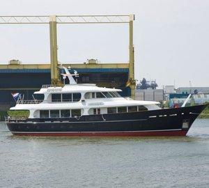 FEEBE boarding equipment for 33m Lynx luxury yacht HELIAD II