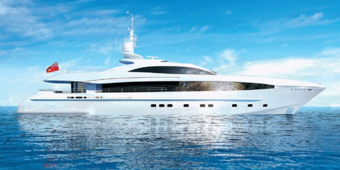 40m Heesen superyacht Project Galatea (hull 15640)