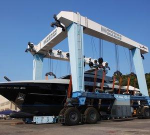 Mondo Marine announces launch of 41m motor yacht NAMELESS