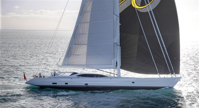 44m superyacht Encore by Alloy with full inventory of Doyle sails