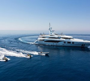 55m Motor Yacht OCEAN PARADISE at the MYS