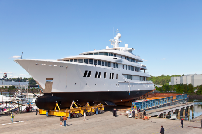 66m INVICTUS yacht by Delta