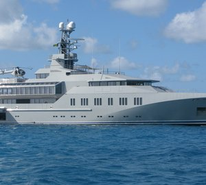 Another busy year for Royal Huisman's Huisfit completing important superyacht refits