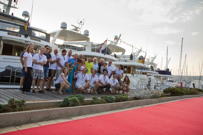 A very successful Selene Yachts Rendez-vous 2013