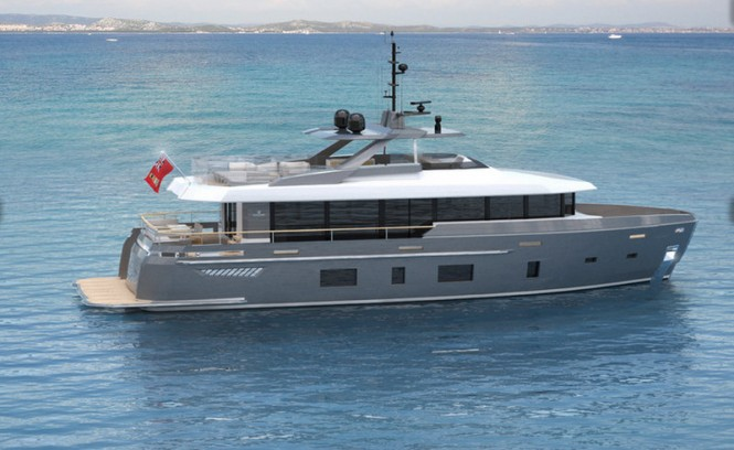 All-new Discovery 88 superyacht concept by Kingship and Horacio Bozzo Design