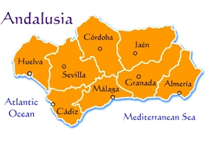 Andalusia Map Yacht Charter Superyacht News - Map of andalusia