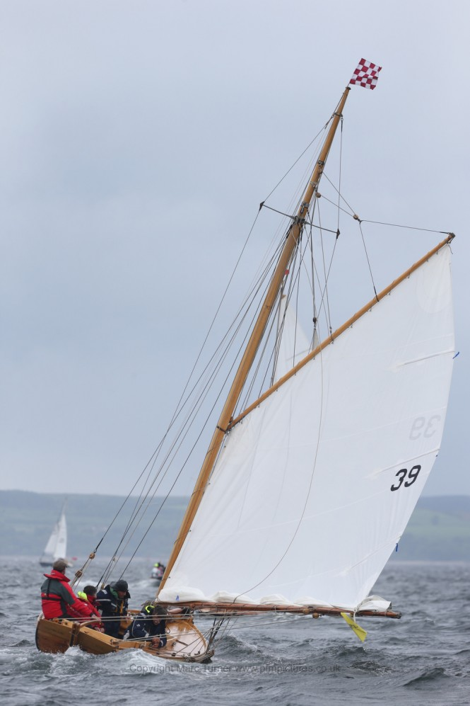 Ayrshire Lass Yacht on the Clyde Day 2 - Photo credit Marc Turner /PFM