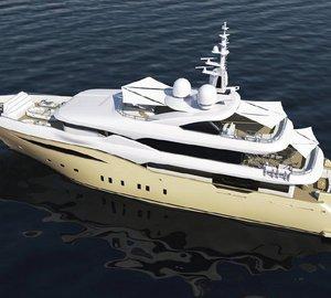 Interior renderings of Bilgin 164 Yacht ALFULK