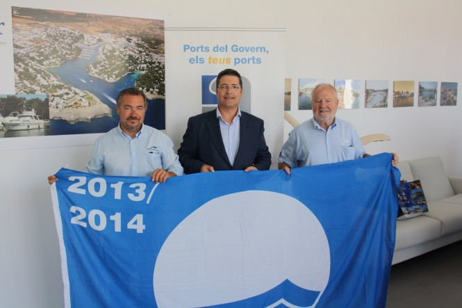 Blue Flag for three ports of IPM Group