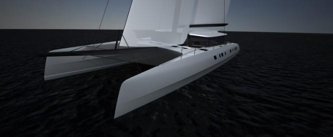 Catamaran yacht APC 78