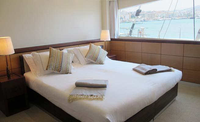 Catamaran yacht Quaranta - Cabin