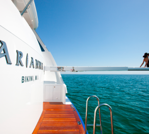 New England yacht charter holiday special aboard ARIANNA yacht