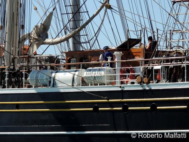 Charter yacht STAD AMSTERDAM  - Photo by Roberto Malfatti