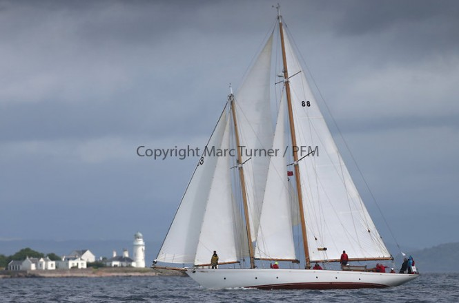 Classic sailing yacht Astor - Photo credit Marc Turner /PFM