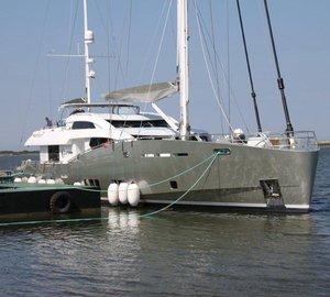 Conrad 115 motor-sailer yacht LUNAR launched by Conrad Shipyard