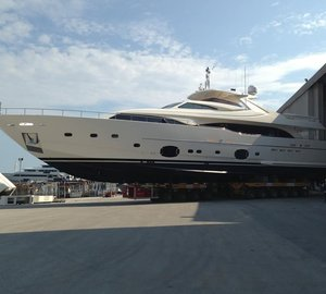 Custom Line 112' NEXT motor yacht HAPPY DAYS launched by Ferretti Group
