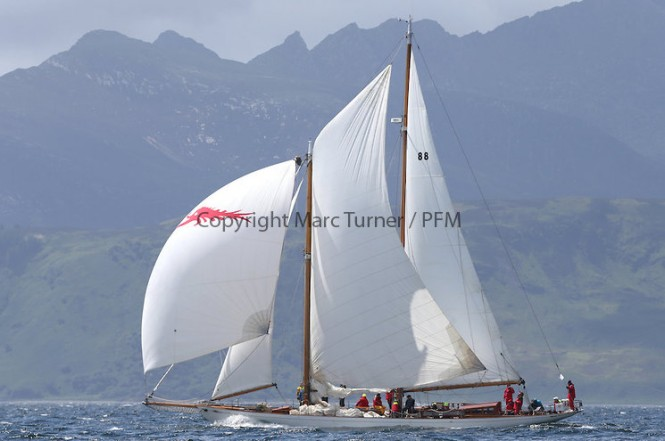 Day five of the Fife Regatta, Race from Portavadie on Loch Fyne to Largs - Photo credit Marc Turner /PFM
