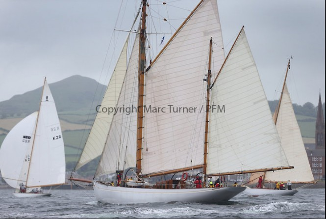 Day two of the Fife Regatta,Passage race to Rothesay - Photo credit Marc Turner /PFM