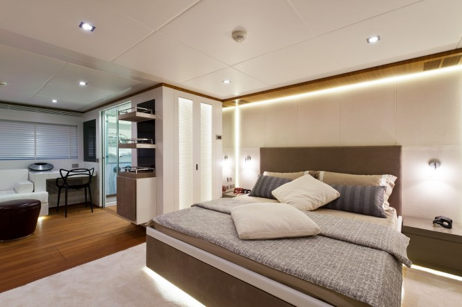 Diamond Yacht - Cabin