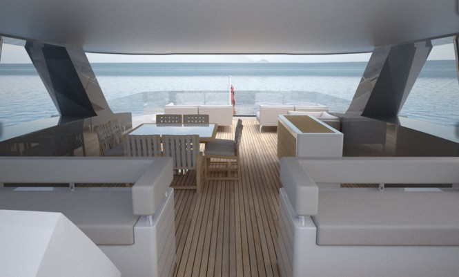 Discovery 88 Yacht Concept - Interior