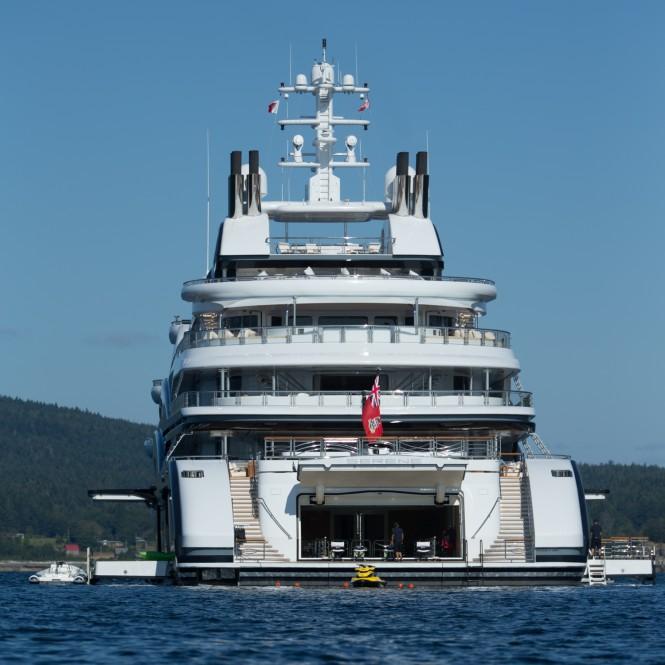 Espen Oeino designed Fincantieri motor yacht SERENE - Photo by Viktor Davare - Vancouver Island Photography