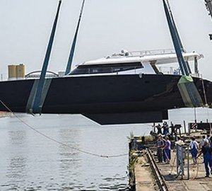 Sunreef Yachts launch first Sunreef 80 Carbon Line sailing yacht LEVANTE