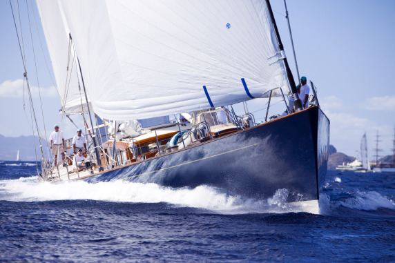 Frers-designed Rebecca Yacht - Courtesy of Pendennis
